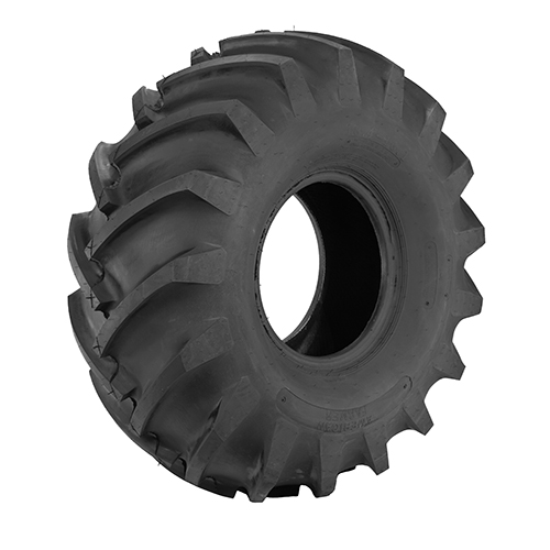 2PCS For Tamiya 1/14 RC Tractor Trailer Tires Hard Rubber
